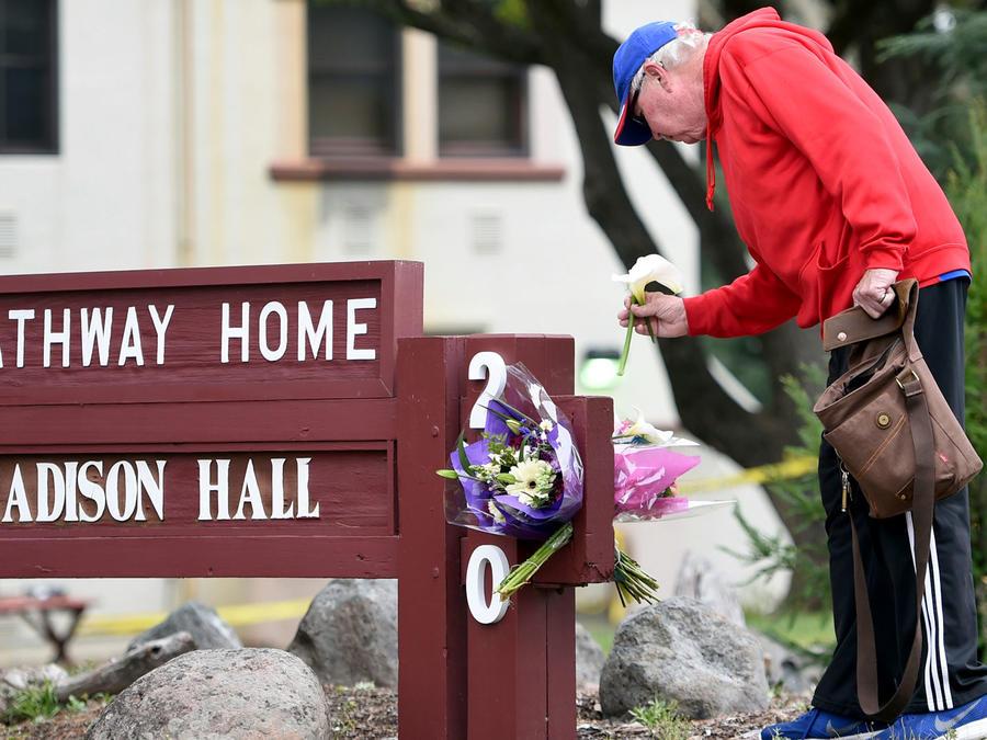 Centro para veteranos donde tres personas murieron después de tiroteo a manos de un ex paciente que luego se quitó la vida