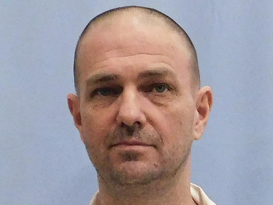 Esta foto sin fecha proporcionada por el Departamento de Correcciones de Alabama muestra a Michael Wayne Eggers.