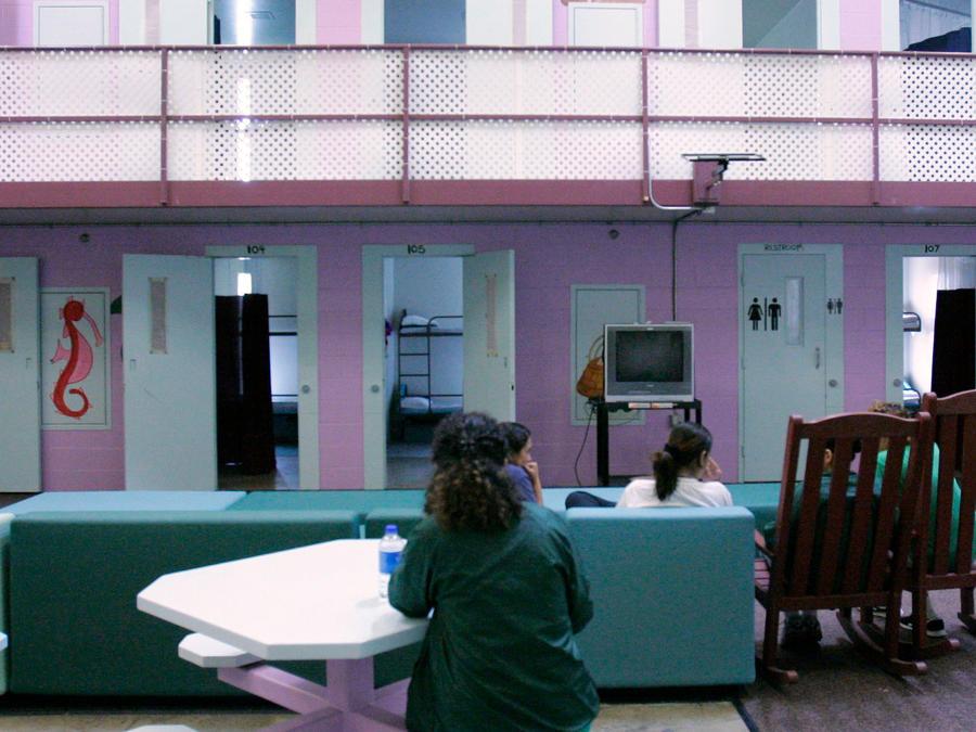 Centro de detención donde la salvadoreña estuvo detenida durante más de 4 meses