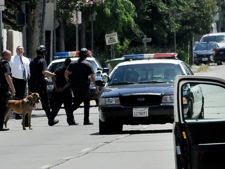 Imagen de archivo de la policia de Los Ángeles