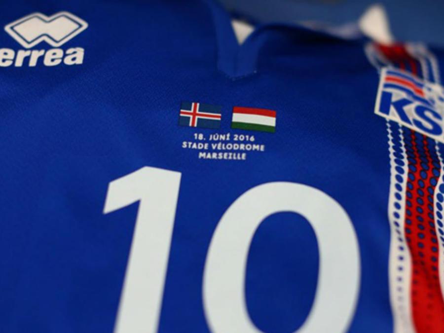 Uniforme de Islandia