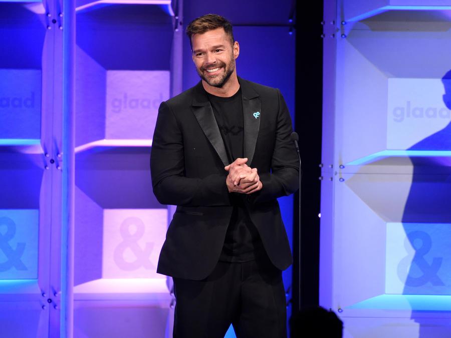 Ricky Martin recibió el Premio Humanitario de la Federación Hispana en Nueva York