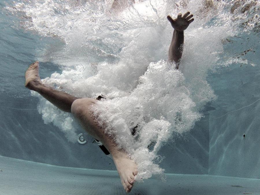 underwater splash
