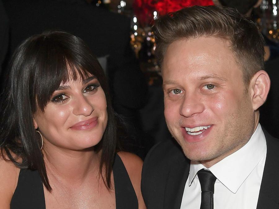 Lea Michele y su novio