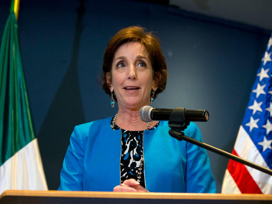 Roberta Jacobsohn, embajadora de EEUU en México, en una imagen de archivo