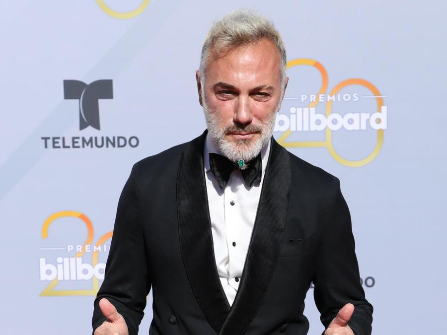 Gianluca Vacchi en los premios Billboard 2018