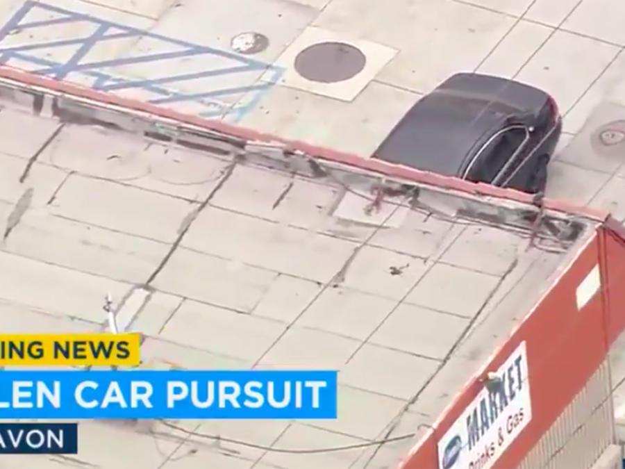 persecución de carro