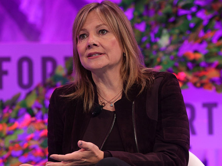 Mary Barra, CEO y directora de General Motors