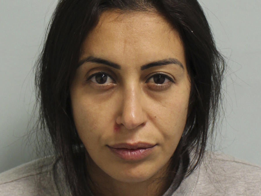 Una foto policial sin fechar de Sabrina Kouider, en Londres.