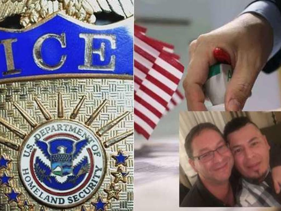 """Fue por su """"Green Card"""" y terminó capturado por ICE Su única opción para permanecer en EEUU es aplicar para una retención de deportación"""
