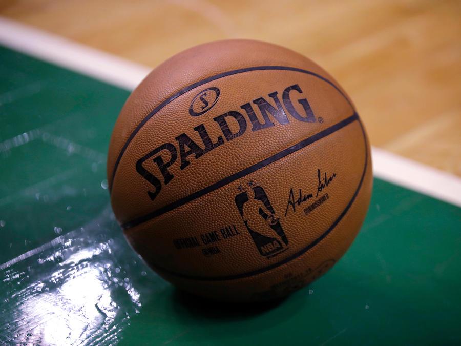 Un foto de una pelota de baloncesto el 17 de abril de 2018.