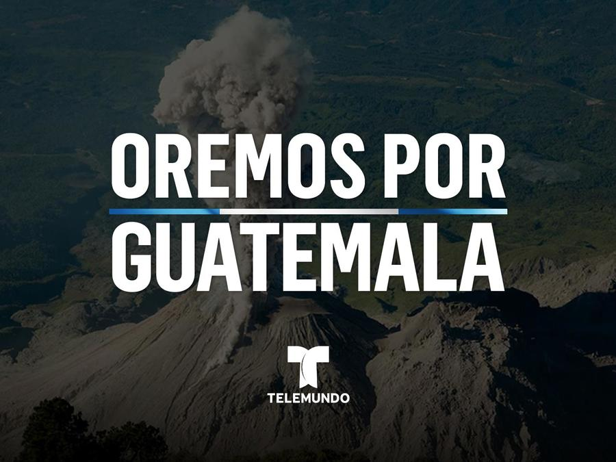 Víctimas volcán de Fuego