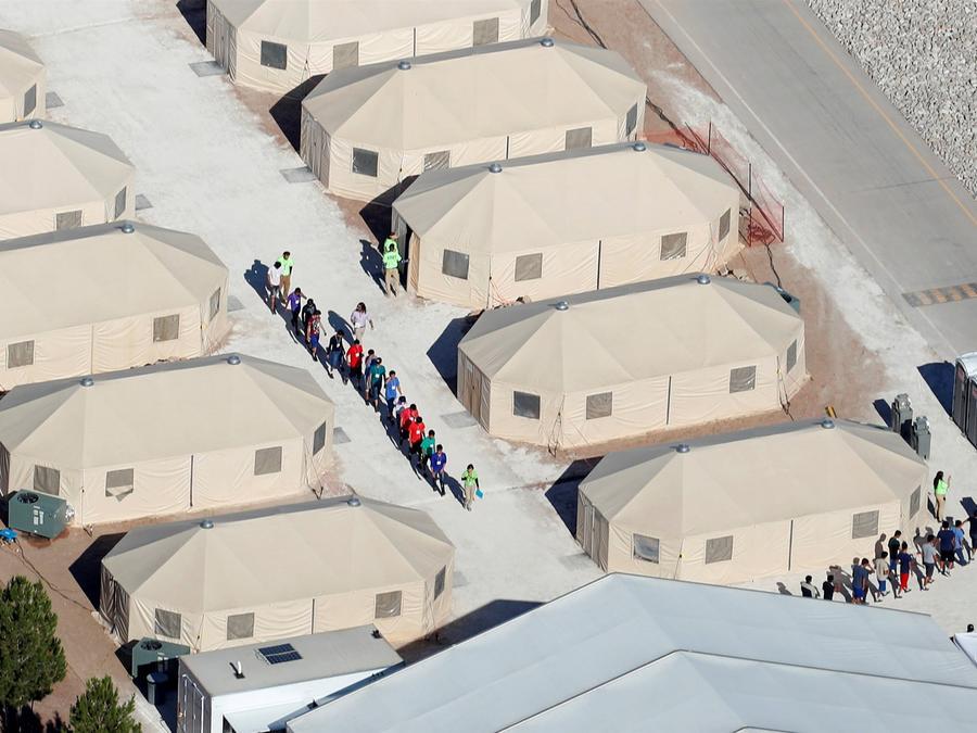 Refugio menores en Tornillo, Texas
