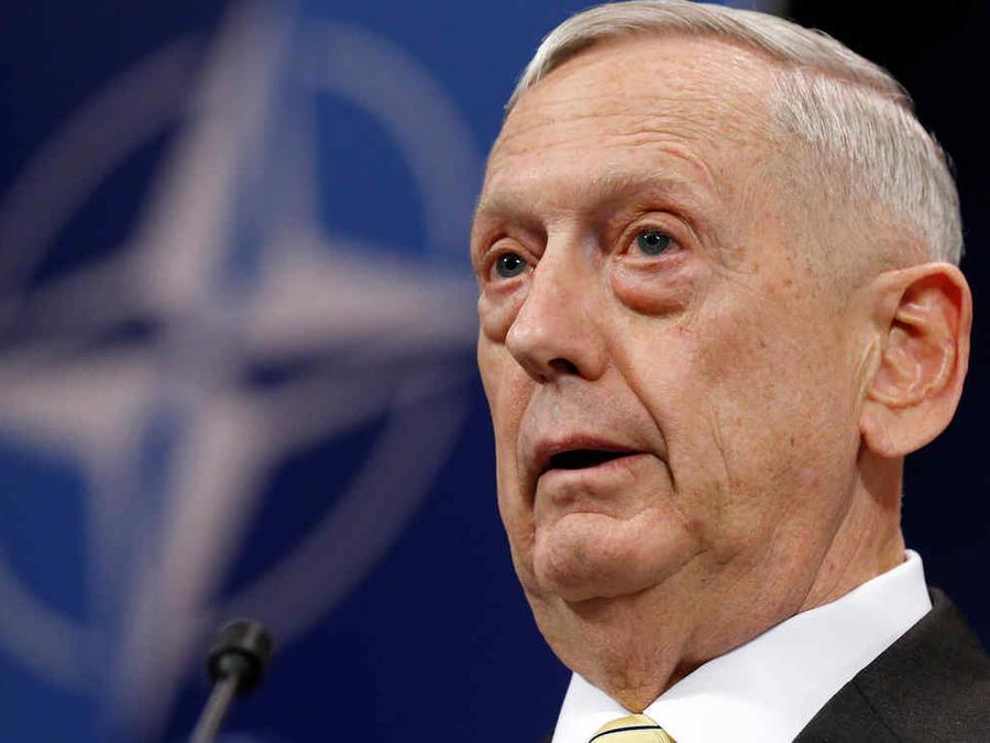 El secretario de Defensa estadounidense, Jim Mattis, en una foto de archivo.