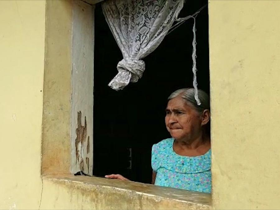 abuela hondureña