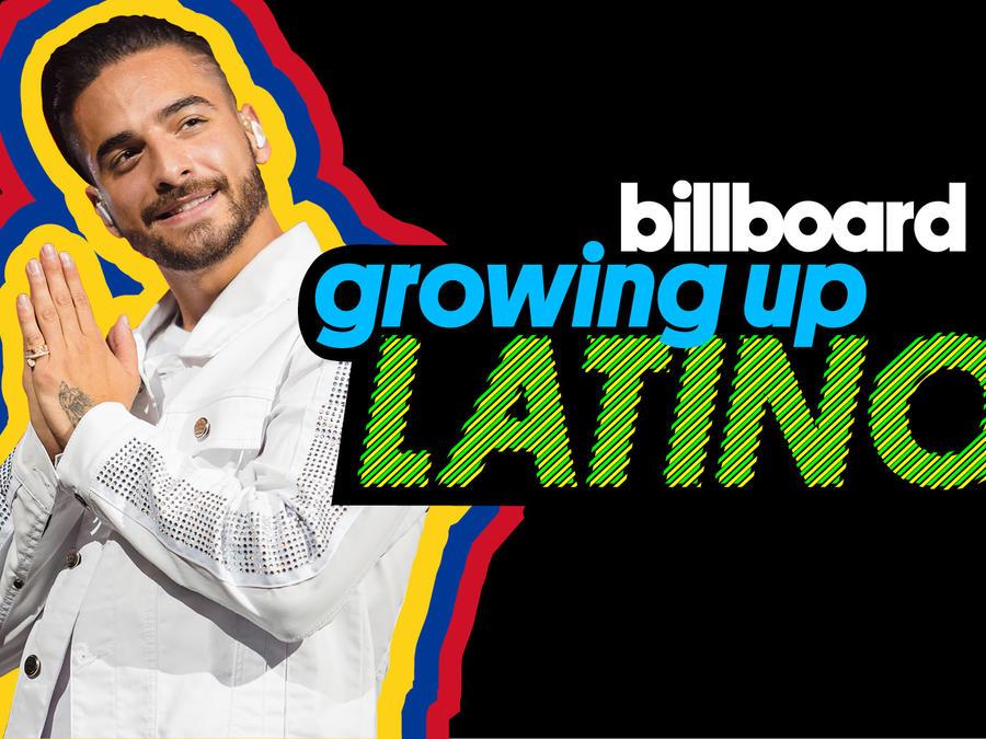 Promocional de Maluma en la serie Growing Up Latino