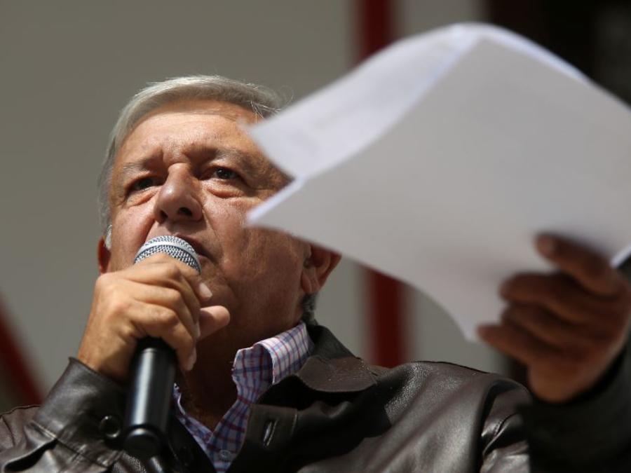 El presidente electo de México, Andrés Manuel López Obrador, este domingo presenta su plan de austeridad.