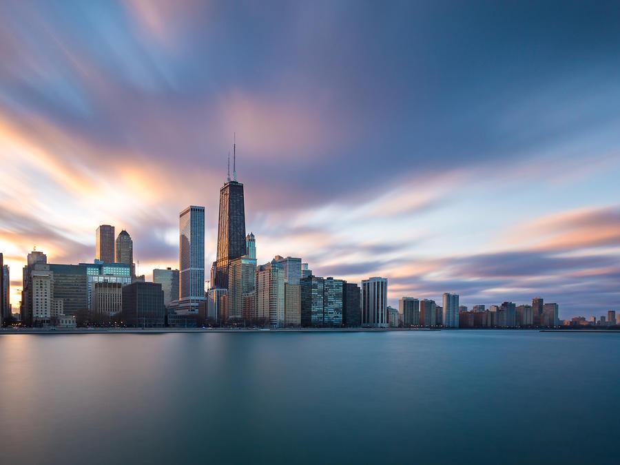 Vista de la ciudad de Chicago