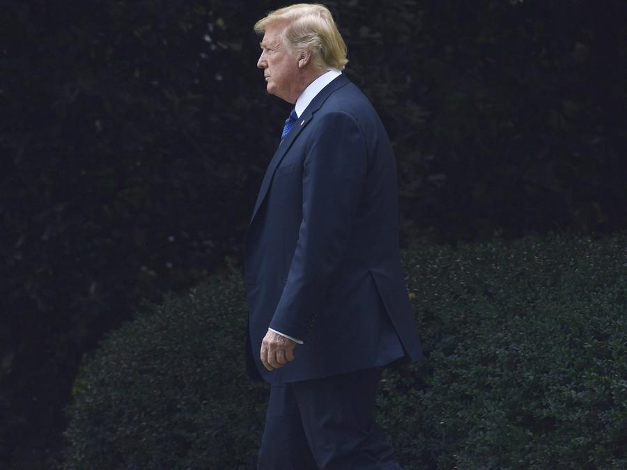 El presidente Trump el 20 de julio de 2018/AP