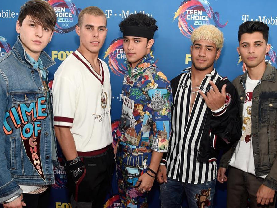 CNCO at the Teen Choice Awards