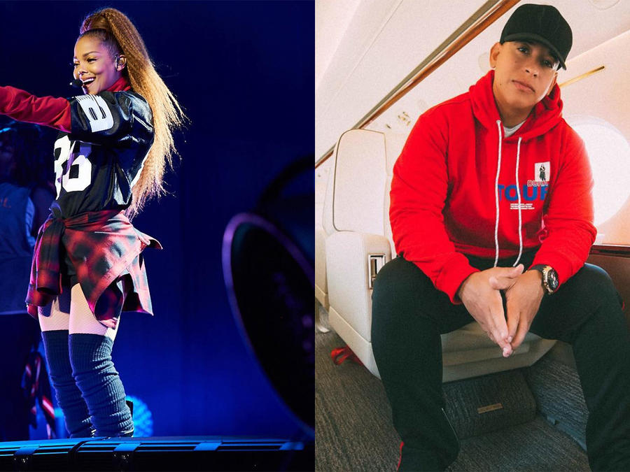 Janet Jackson and Daddy Yankee