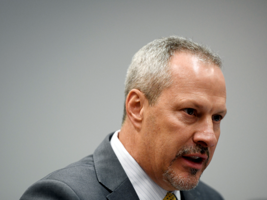 El director regional de la DEA, Matthew Donahue,este martes en Chicago.