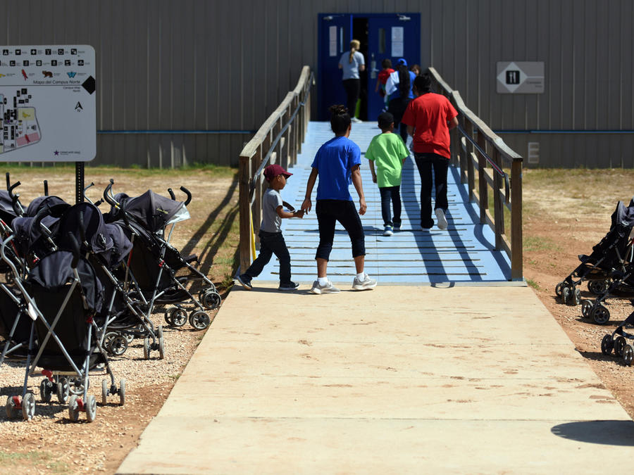Centro de detención de menores en EEUU en una imagen de archivo