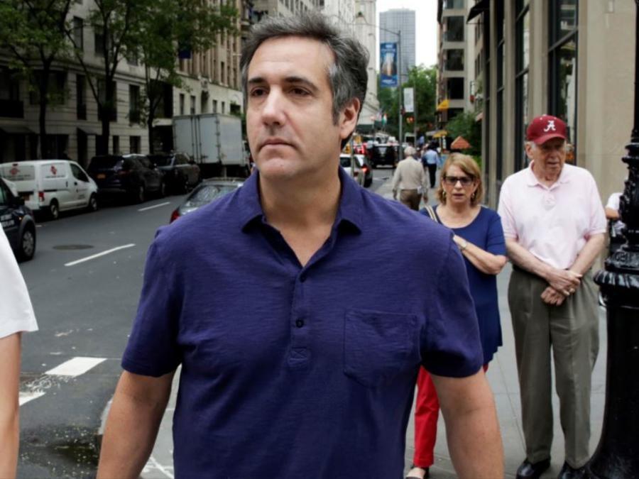 Michael Cohen, exabogado personal del presidente Trump, en una foto de archivo.