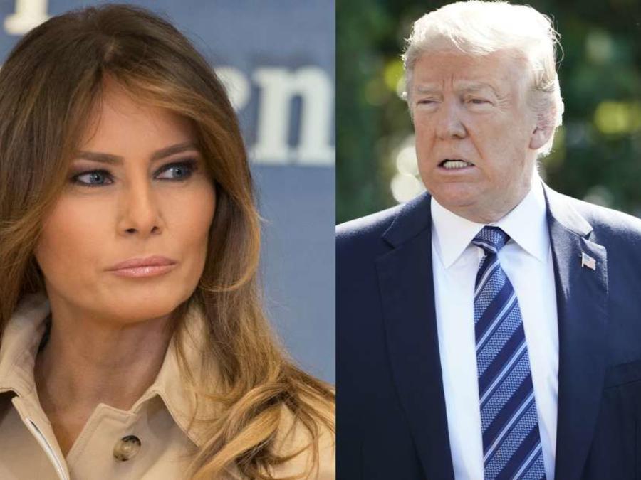 La primera dama Melania Trump se ha embarcado en una nueva misión