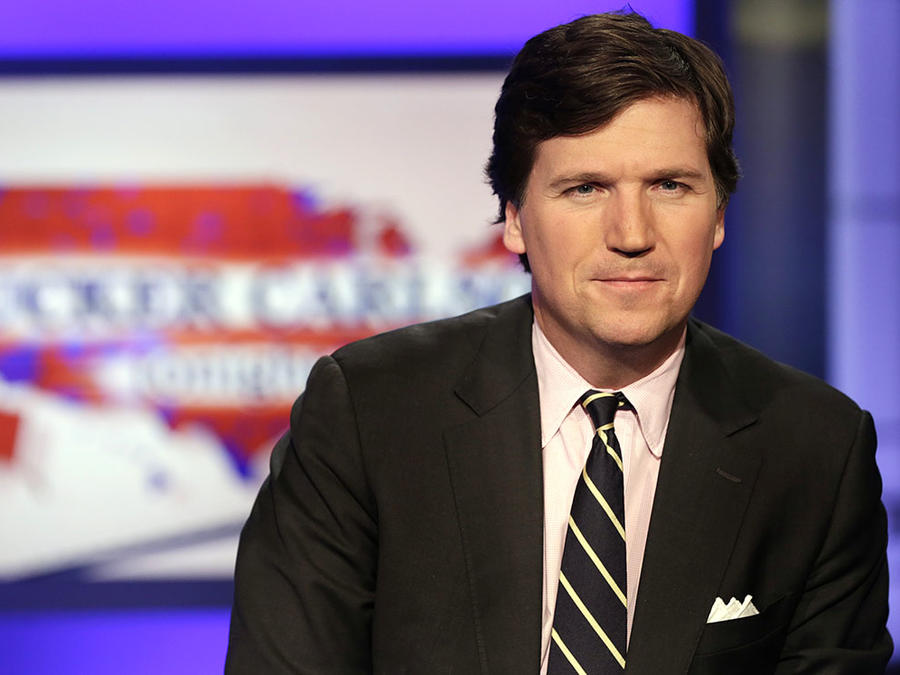 El presentador de Fox News Tucker Carlson.