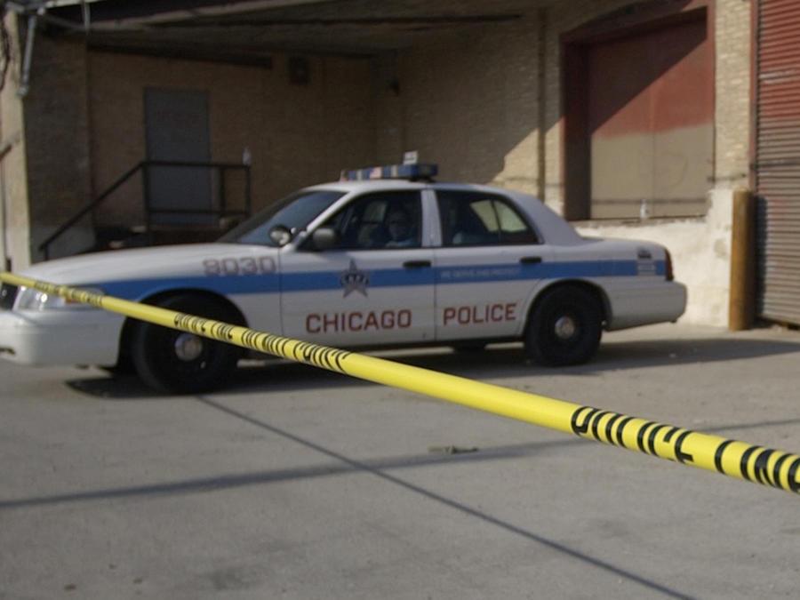 Imagen de archivo de un carro policial en Chicago.