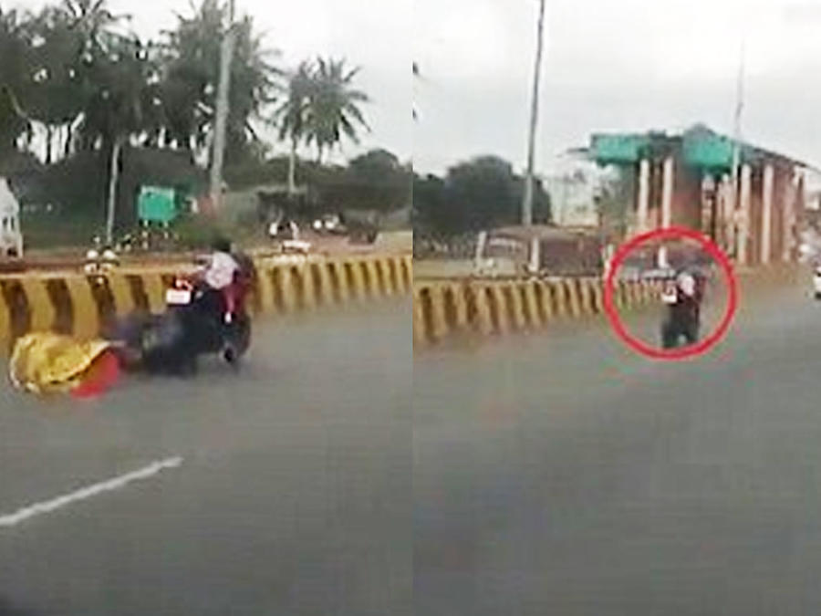 Bebé en motocicleta