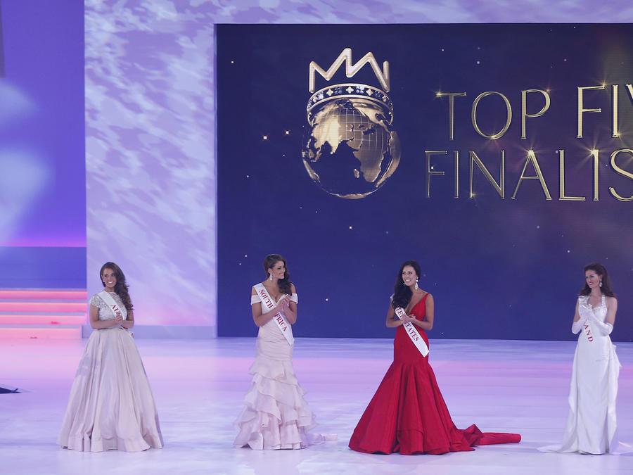 Imagen de archivo del concurso Miss Mundo.