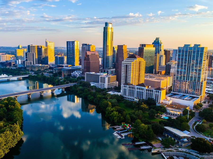 Ciudad de Austin en Texas