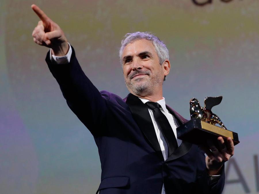Alfonso Cuarón recoge el León de Oro por su película Roma hoy