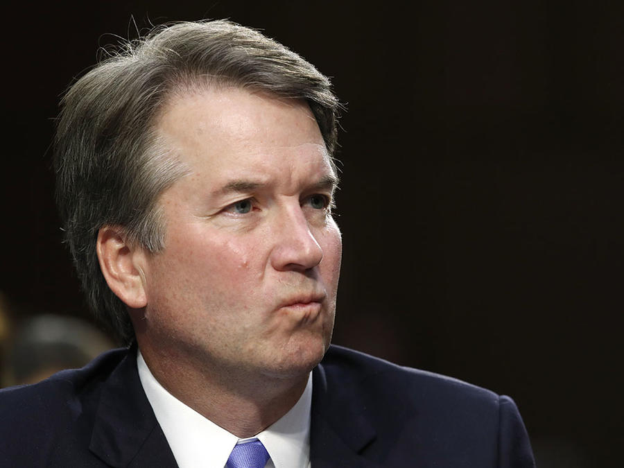 El nomidado del presidente Donald Trump al Tribunal Supremo, Brett Kavanaugh.