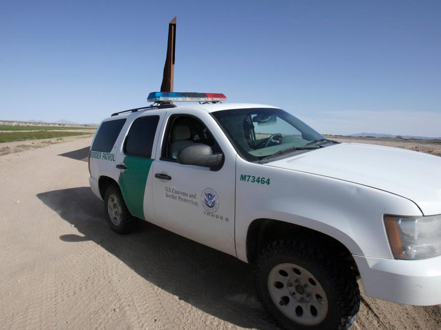 Vehículo de la patrulla fronteriza de EEUU en una imagen de archivo