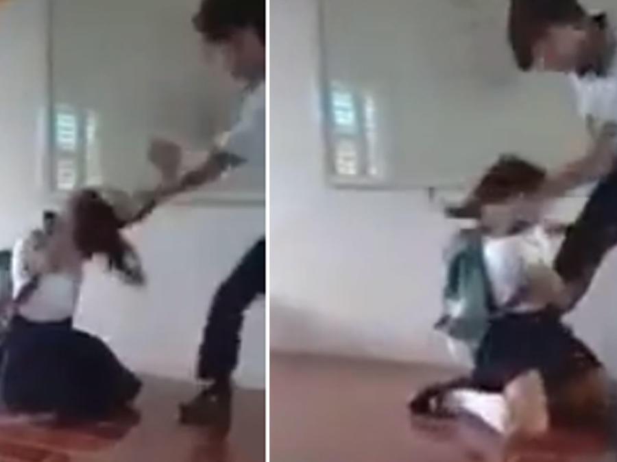 Golpiza estudiante
