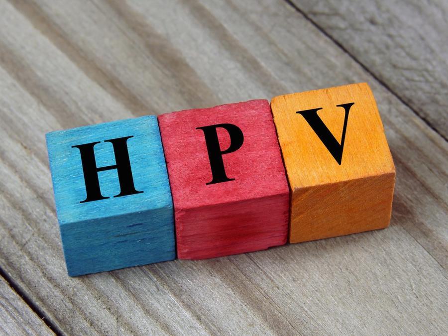 Cubos con letras HPV