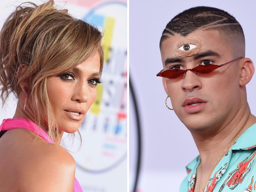 Jennifer Lopez y Bad Bunny