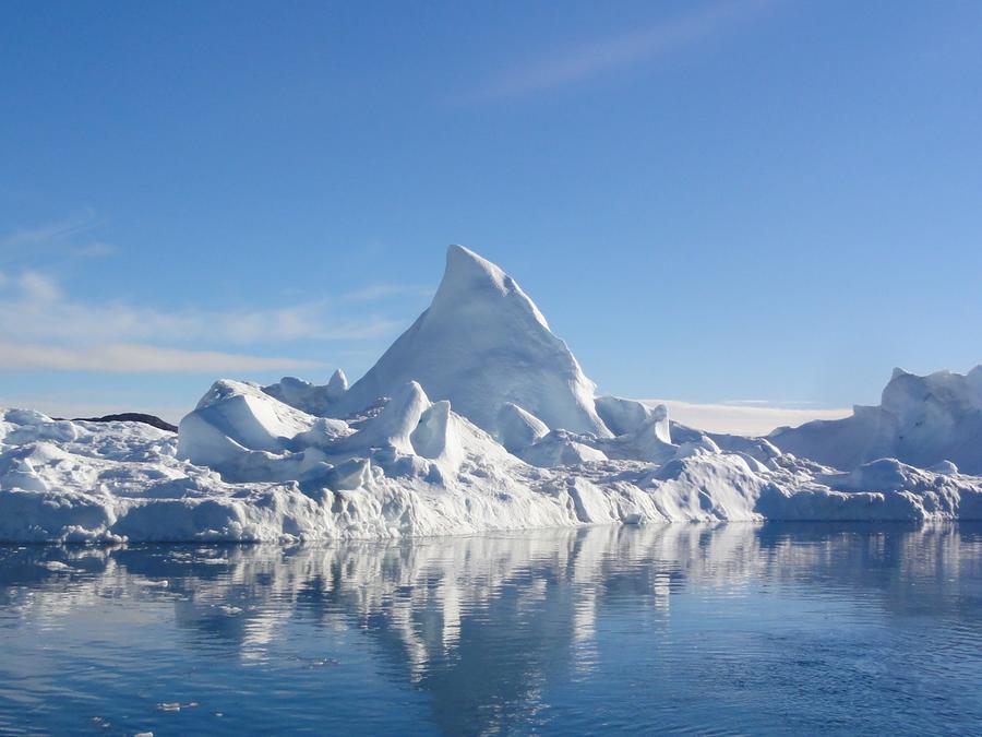 Iceberg en el agua