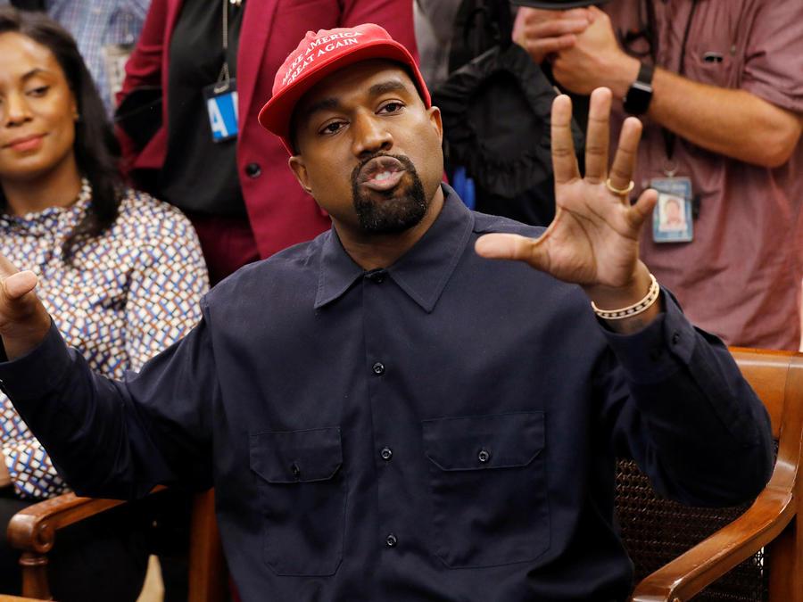 La estrella de hip-hop Kanye West en la Casa Blanca en una imagen de archivo