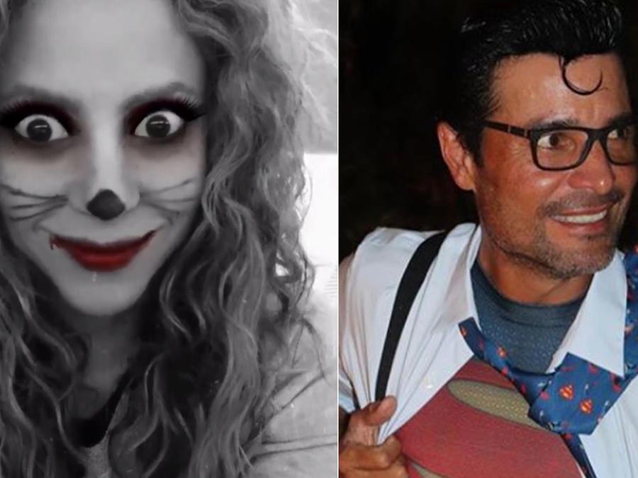 famosos latinos Halloween
