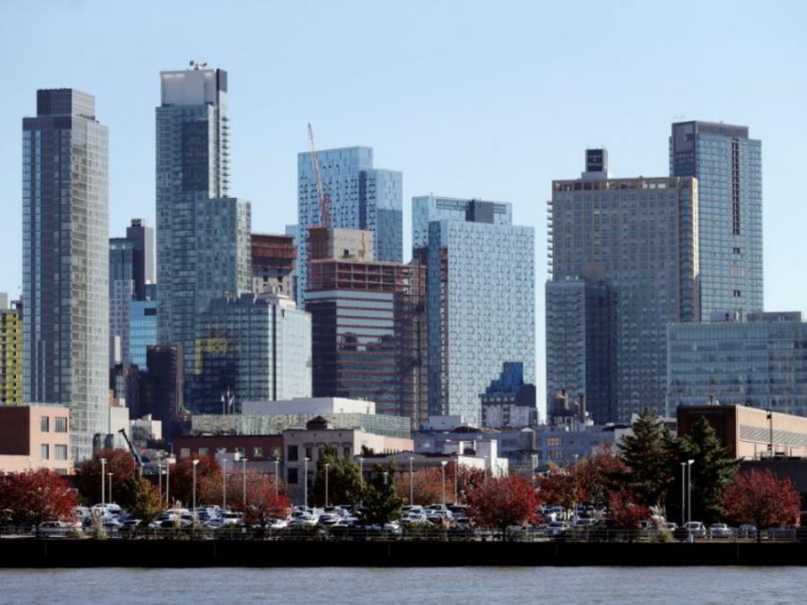 Long Island City en el distrito de Queens en Nueva York.