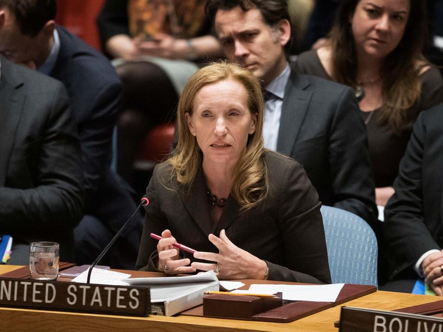 Kelley E. Currie, embajadora de Estados Unidos ante la ONU para los asuntos ecnómicos y sociales.