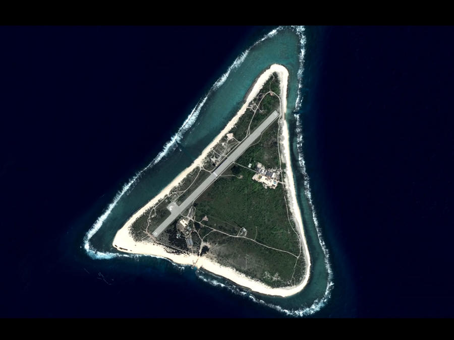 Isla desaparecida