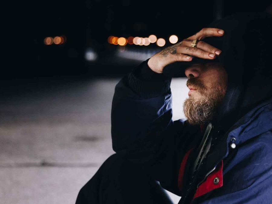 Hombre sin techo