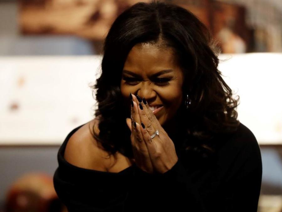 Michelle Obama en una foto de archivo.