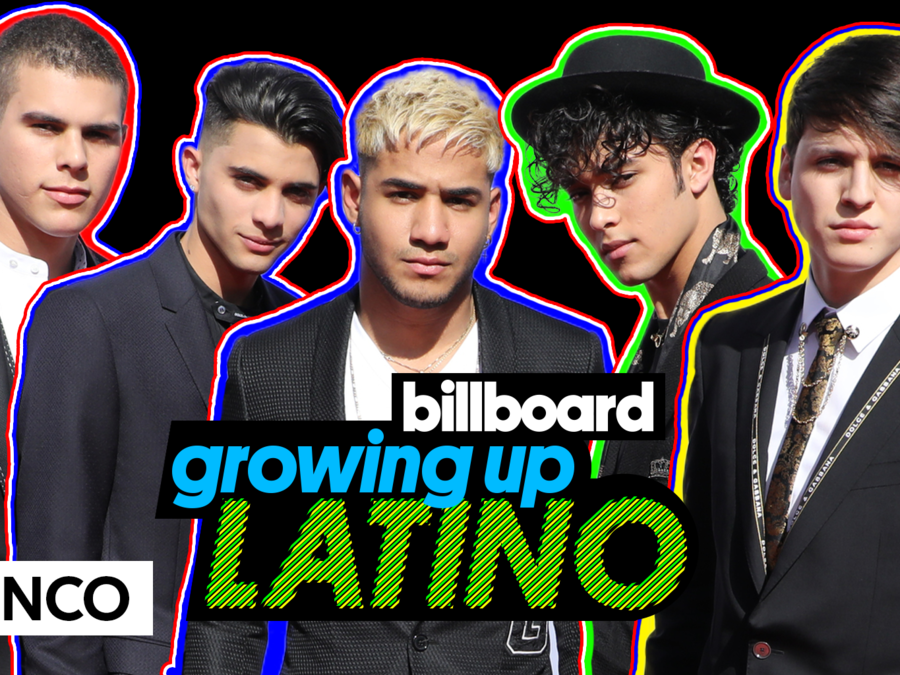 CNCO en Growing Up Latino