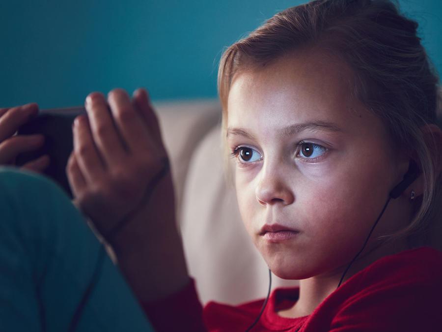 Niños tecnología